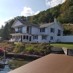 Photo for Beautiful Lakefront Home, Prime Location on Keuka Lake