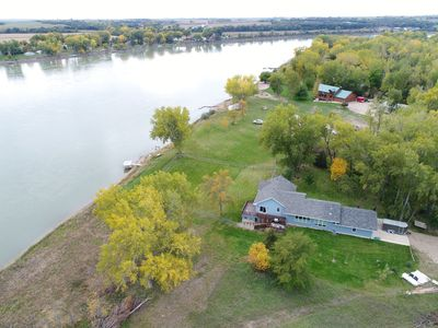 Custom, Private Riverfront Property on 2 acres- Unobstructed River Views!