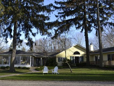 View Lake Mich Sunsets From This Beautifully Updated Family Home With Pvt Beach