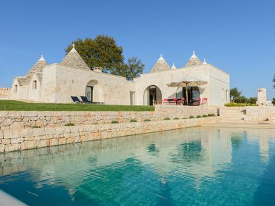 Photo for Authentic trulli with pool