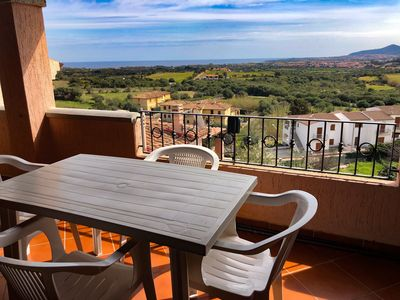 Photo for Air-Conditioned Apartment Close to Beach with Balcony & Terrace; Parking Available
