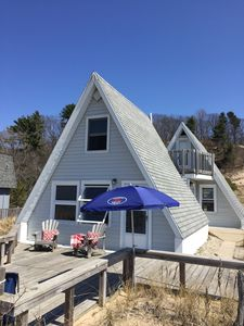 Photo for Cozy Cottage On Lake Michigan Shore, Newly Renovated, Flat & few Steps To Beach