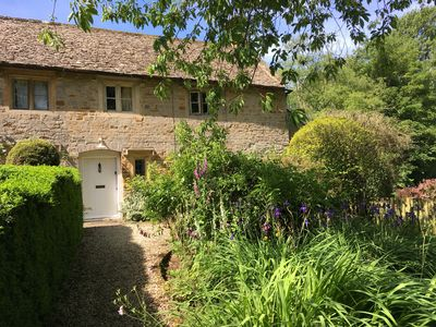 Photo for LISTED COTTAGE WITH FABULOUS PRIVATE GARDEN SET IN CHARMING COTSWOLD HAMLET