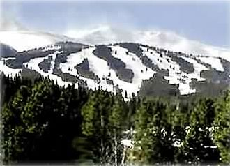 Fantastic View of Breckenridge Ski Area from Living Room