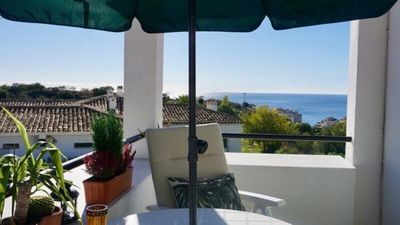 "Photo for Your luxurious ""Diamond"" holiday home on the Costa del Sol with sea views!"
