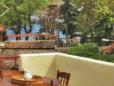 Photo for Seaview Rooftop apt by the beach in Corfu town