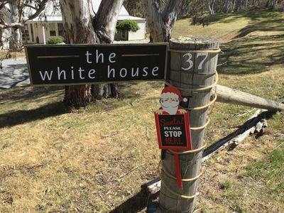 Christmas is on the door step...enjoy some family time at Andrea's White House