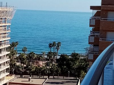 Photo for BEAUTIFUL APARTMENT IN FIRST LINE OF BEACH