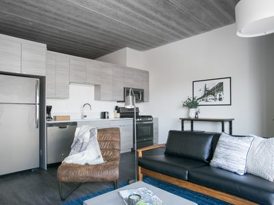 Photo for Sonder | The Western | Modern 1BR + Rooftop