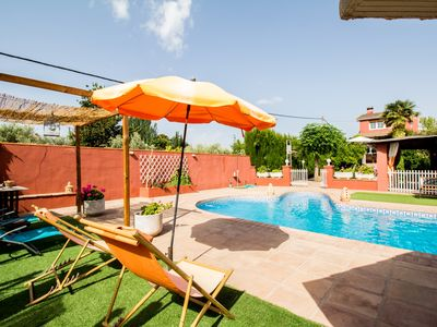 Photo for Fantastic duplex with private pool and garden
