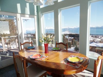 Photo for Miracle Ridge - Beautiful, Private Home Overlooking Kachemak Bay & Cook Inlet
