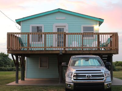 Photo for Cute & Cozy Beach Cottage with Great Gulf Views, Satellite TV & Pet Friendly