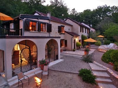 Photo for Stylish stay on a private estate with sauna, heated pool and jacuzzi