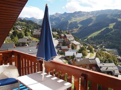 Photo for Exceptional view at the foot of the slopes