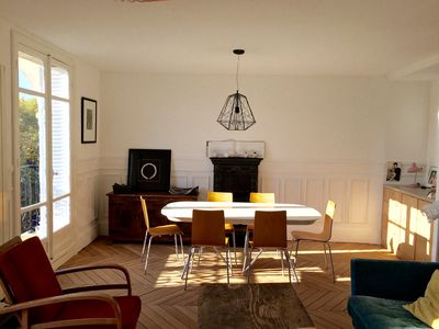 Photo for SUNNY AND LARGE APARTMENT IN PARIS