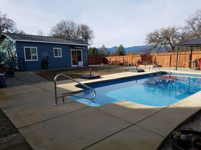 Photo for Peponi House - Private 1 BR Cottage In Owner's Backyard Near Bethel