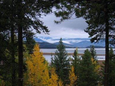 A Fall View from Our Cabin