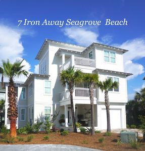 Photo for 5BR/4.5 BA Seagrove Luxury Beach Home