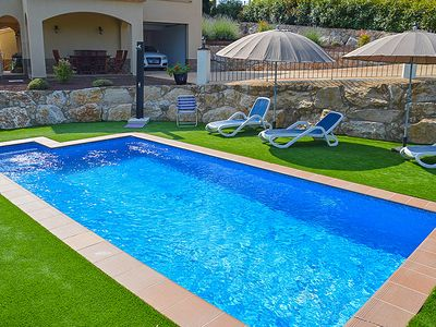 Photo for Club Villamar - Beautiful house with private pool and large garden where you can enjoy the sun an...