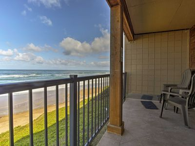 Photo for Beachfront Lincoln City Condo-Patio & Pool Access!
