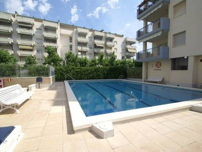 """Photo for Apartment a short walk away (342 m) from the """"Playa Levante"""" in Salou with Internet, Pool, Air conditioning, Lift (752313)"""