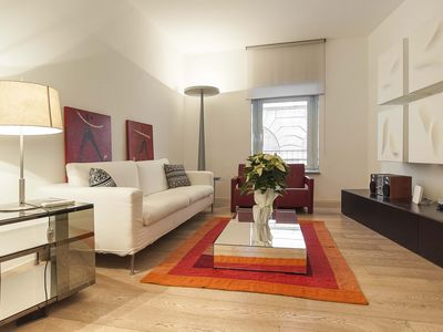 Photo for Rome' Spanish Steps Modern Design in Historic Palazzo in a lovely Roman Piazza
