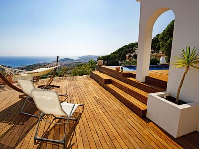 Photo for Vacation home Can Bruc in Lloret de Mar - 6 persons, 3 bedrooms