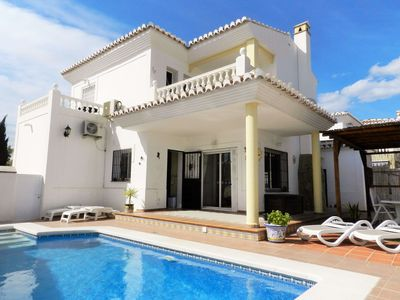 Photo for Luxury Villa in Torrox Park with private pool