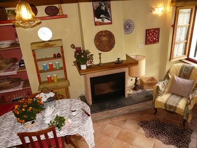 Photo for Casa Elisa is a nice semi detached house in Azzano, a tiny medieval hamlet