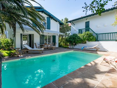 Photo for BIARRITZ Villa with outbuilding / near ocean / lighthouse / St Charles / 14 pers