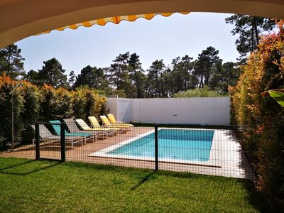 Photo for Lc. 11 368. Lovely 4 bed 3 bath house, with pool, 300 metres from the beach