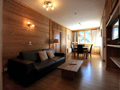 Photo for ADRET Apartment - 5 people - Near the slopes - 3 Valleys
