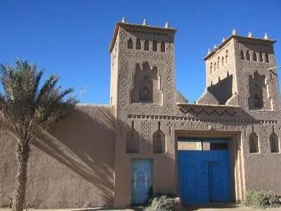 Photo for Rooms and breakfast homestay in the palm of Ouarzazate