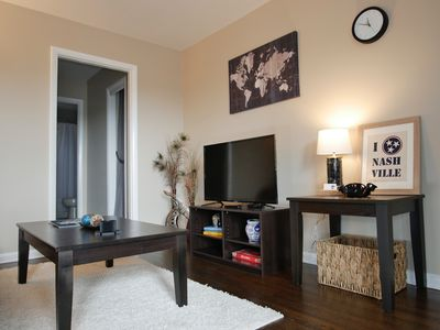 Photo for 5★ - Modern, Clean, Private Apt near Everything!