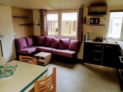 Photo for New mobile home, all comfort; 3 bedrooms, airconditioning / heating
