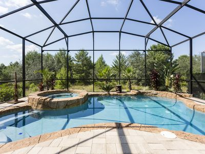 Photo for Close to Disney, Private Pool Home with Upgrades and Kids Themed Bedrooms!