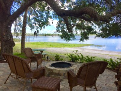 Photo for Lakefront Cabin In Ocala National Forest On Peaceful Lake Kerr!