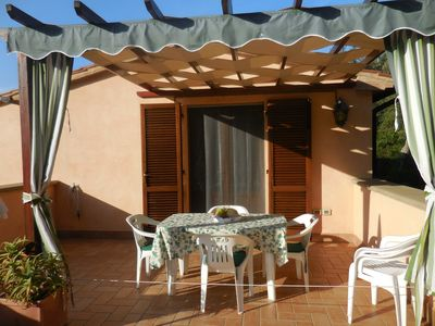 Photo for between Cecina and Guardistallo in a small residential complex + pool , Tuscan style, near the seaside Costa Etrusca, close  to the Wine road,  very peaceful
