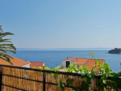 Photo for Contemporary 2 bedroom apt with terrace and sea view - 30 meters from the sea
