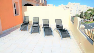 Photo for Luxury Fully Air-Conditioned Apartment with FREE WIFI and SKY