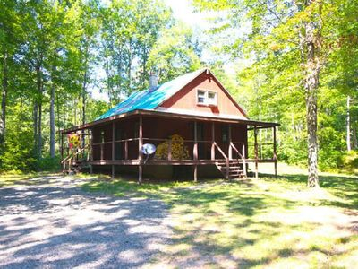 Photo for Cabin on 10 acres - minutes from Ricketts Glen