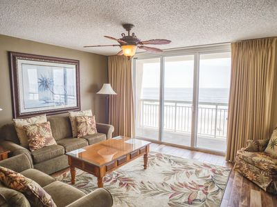 Photo for Crescent Shores Oceanfront Unit 504! Stunning Condo. Book your get away today!