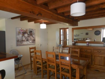 Photo for The Gîte de Maëlle 15km from the Beauval Zoo and close to the castles of the Loire
