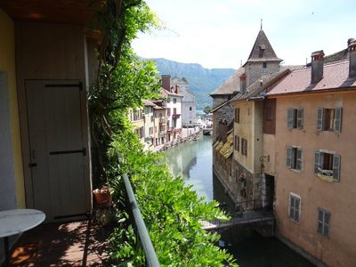 Photo for Annecy - Historic center - Apt standing: Rousseau