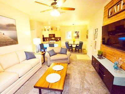 Photo for 1-104 Legacy Dunes, Modern decor, ground floor with a pool view, gated resort