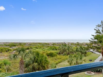 Photo for Panoramic ocean view, steps to pool, 1 block to Beach Club!