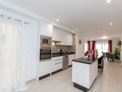 Photo for Incredible brand new apartment, first line lateral sea view, suitable for disabled