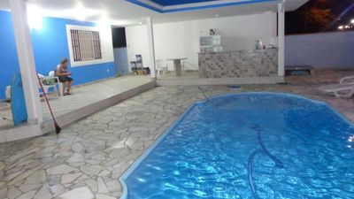 Photo for Blue house with pool in Ubatuba Maranduba