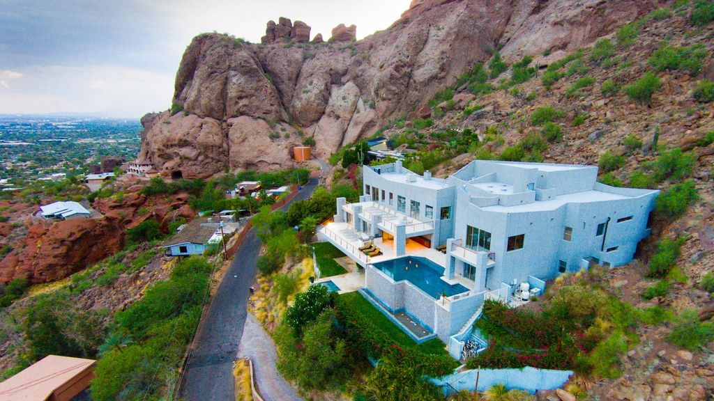 10 million dollar mansion on camelback city views 8 - House with a view ...