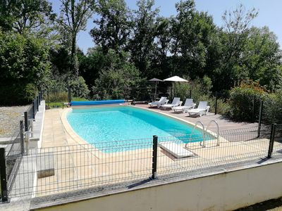 Photo for Beautiful 3 bedroom house in the Dordogne with private pool and gardens.